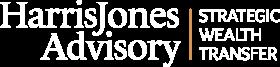 Harris Jones Advisory Logo in white