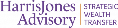 Harris Jones Advisory Logo in purple
